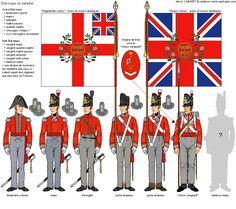British; 33rd (or First Yorkshire West Riding) Regiment, Regimental staff, 1815