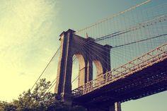 ... sending postcards: brooklyn bridge