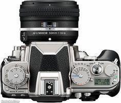Nikon Df, old school styling