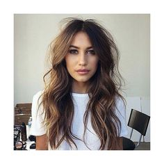 40 Long Hairstyles and Haircuts for Fine Hair ❤ liked on Polyvore featuring beauty products, haircare, hair styling tools and fine hair care