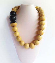 Arti Long - Wooden Bead Before A$44.95  NOW A$29.95 Ball Necklace, Beaded Necklace, Wooden Beads, Jewelry Accessories, Beaded Collar, Jewelry Findings, Beaded Necklaces, Pearl Necklace, Bead Necklaces
