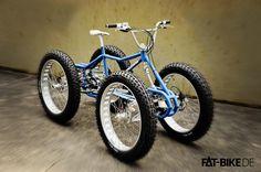 Warum nicht Fettbike, wenn es schon FATBike heißt? Was das ist und wofür es diese Fahrräder gibt, ist schnell erklärt, in dem Fettbike - Blog.