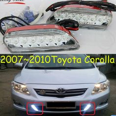 Bumper Grille Compatible with Toyota Corolla 09-10 Front Textured Black North America Built