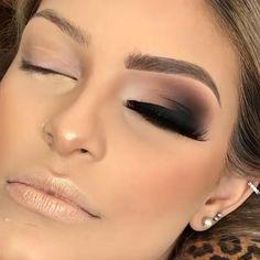 Contour Makeup, Eyebrow Makeup, Glam Makeup, Eyeshadow Makeup, Eyeshadows, Smoky Eye Makeup, Eye Makeup Steps, Makeup Eye Looks, Makeup For Brown Eyes