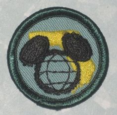 Disney World 1982 Girl Scout Anniversary Mickey Mouse ears patch Old Disney, Disney Fun, Vintage Disney, Disney Stuff, Disney Movies, Disney Characters, Girl Scouts Usa, 70th Anniversary, Mickey Mouse Ears