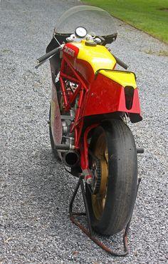 Angry Italian: 1982 Ducati race bike - Rare SportBikes For Sale Ducati 600, Iron Man Pictures, Ducati Pantah, Ducati Motorcycles, Classy Cars, Ducati Monster, Sportbikes, Supersport, Motorcycle Design
