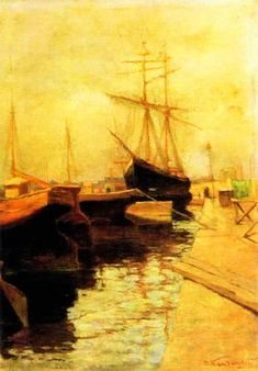 "Wassily Kandinsky, ""Odessa. Port,"" 1898"