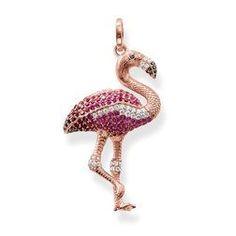 Exclusive Thomas Sabo Flamingo Charm