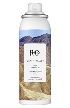 DEATH VALLEY Travel Size Dry Shampoo: Not your granny's dry shampoo. DEATH VALLEY is the quickest way to get volume and body into your hair. Good for: Easy, big, messy Bardot (or Bon Jovi) hair. Death Valley, How To Curl Your Hair, How To Make, Shampooing Sec, Wand Hairstyles, Texturizing Spray, Moroccan Oil, One Hair, Hair
