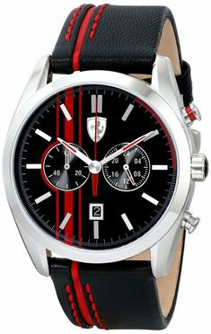 Stylish Watches, Luxury Watches, Cool Watches, Rolex Watches, Wrist Watches, Ferrari Watch, Best Watches For Men, Swiss Army Watches, Beautiful Watches
