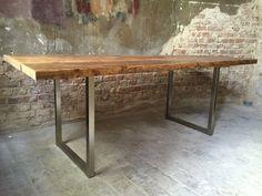 Esstisch_Hagen /rustikal /Holz /Loft /nachhaltig von #ausLiebezumHolz auf DaWanda.com