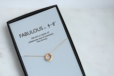 40th Birthday Gifts for Women 40th Birthday Jewelry Fine Jewelry for Wife Birthday Gift For Her Birthday Necklace Gift for Daughter Gold