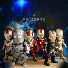 Chibi Marvel, Marvel Avengers, Comic Book Heroes, Comic Books, Funko Pop Iron Man, Iron Man 3, Action Figures, Collectible Toys, Flash Light