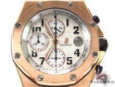 Mens Audemars Piguet Royal Oak Offshore 18K Rose Gold Watch