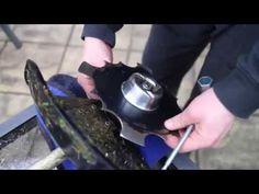 Honda UMK425U Brush Cutter Blade Installation How To Install Cutting Blade On Honda Brushcutter - YouTube