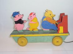 Wooden Toys, Easter, Car, Wooden Toy Plans, Wood Toys, Automobile, Woodworking Toys, Easter Activities, Vehicles