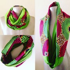 A personal favorite from my Etsy shop https://www.etsy.com/listing/478389478/aka-ankara-infinity-scarf