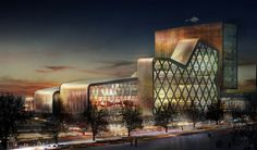HESPERIA MOSCOW HOTEL DIGITALL COLLAGE collaboration with willy muller architect