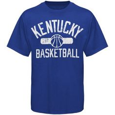 Kentucky Wildcats Varsity Basketball T-Shirt - Royal Blue