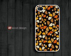 Case for iphone 4 case iphone 4s case iphone 4 cover colorized illustrator flower graphic design printing. $13.99, via Etsy.