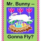BUNNIES CAN FLY in this fun INDOOR PARACHUTE GAME!  All you need is a parachute or a bed sheet and one little stuffed bunny!  Great COOPERATIVE PLAY ACTIVITY for a rainy spring day!  Learn some new techniques for making your Parachute Games run smoothly and safely.  Your students will be FOLLOWING A SEQUENCE as they have fun with strong rhythm and rhyme patterns!  Great indoor ACTIVE fun!  (5 pages)  From Joyful Noises Express TpT!  $