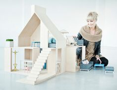 Boomini: modern dollhouses with Scandinavian style