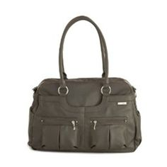 JJ Cole Satchel Diaper bag in Cafe