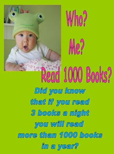 themes for 1000 books before kindergarten - Google Search