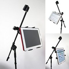 ChargerCity Music Mic Microphone Stand Tablet Mount with ... https://www.amazon.com/dp/B007PKR3SK/ref=cm_sw_r_pi_dp_x_qpmlyb744RKQB