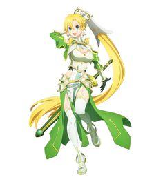 Leafa Sao, Kirito, Anime Poses Reference, Art Reference, Kingdom Hearts Anime, Sao Characters, Sword Art Online Asuna, Accel World, Anime Crossover