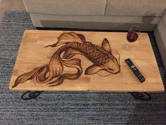68 ideas wood stain art furniture for 2019 Wood Burning Crafts, Wood Burning Patterns, Wood Burning Art, Art Furniture, Upcycled Furniture, Furniture Design, Antique Furniture, Bedroom Furniture, Western Furniture