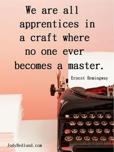 Read more about Ernest Hemingway here ~~~~~ Writers Write offers the best writing courses in South Africa. Writers Write - Write to communicate Hemingway Quotes, Ernest Hemingway, Writing Advice, Writing Prompts, Fiction Writing, Leadership, Writing Motivation, I Am A Writer, A Writer's Life