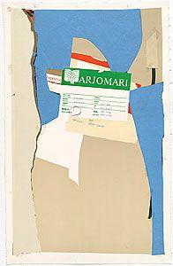 Robert Motherwell Collage | Robert MOTHERWELL, America - La France variations II