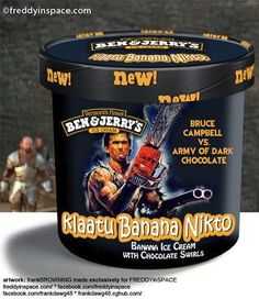 ben+and+jerry+horror | ... bring us these super cool Horror movie themed Ben & Jerry ice creams