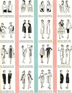 Vintage Maternity Clothes History . 1940′s Maternity Fashion Do's and Don't  #vintage #maternity