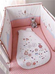 Tour de lit bébé brodé thème Floriz'ettes  - vertbaudet enfant