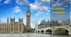 New York vs London Flight And Hotel, Travel Deals, Best Cities, Big Ben, New York City, Dubai, Tours, Good Things, London