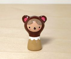 Brown Bear Plini Figurine