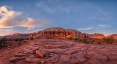 Capitol-Reef-Sunset-Panorama by Prajit Ravindran on 500px
