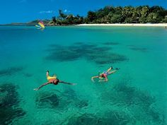 Turtle Island, Fiji, is where the movie Blue Lagoon was filmed... one of my dream locations