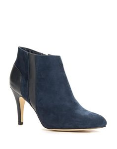 Stretch Wedge Ankle Boots