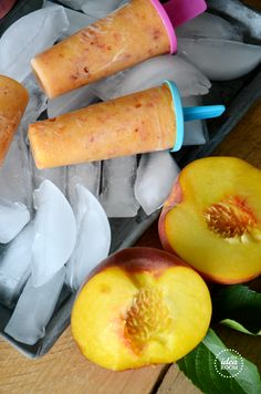 peach-popsicle recipe