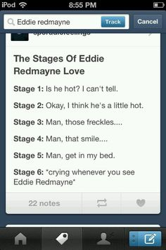 Yup, I have sold my soul to Mr. Redmayne. ;)