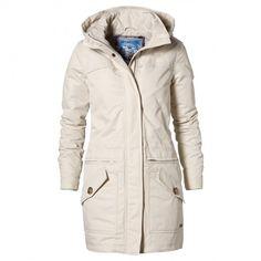 Jacket Winter Parka #McGregor #Fashion #Clothing #women #winter #fw2013 #jacket #parka #white