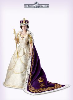 Celebrate the legacy of Her Majesty the Queen with the Queen Elizabeth II Commemorative Coronation Doll.