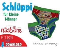 inDIYkiste.de - Freebook Schlüppi für kleine Männer