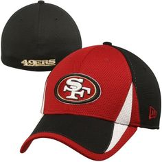 f11c9a51a New Era San Francisco 49ers Training Replica 39THIRTY Flex Hat -  Scarlet Black