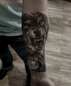 Find your best gift ideas for your family and friends! Wolf Pack Tattoo, Wolf Tattoo Forearm, Wolf Tattoo Back, Small Wolf Tattoo, Wolf Tattoo Sleeve, Sleeve Tattoos, Wolf Tattoos Men, Badass Tattoos, Dog Tattoos