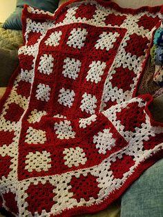 Ravelry: hug blanket CAL pattern by Judie Huhn Benson