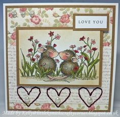 Little K Smith's Crafty Corner: House Mouse Monday GDT Card No. 3!